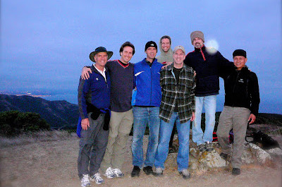 My Marin County men's group hiking in Tennessee Valley