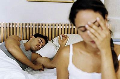 Man falling asleep after ejaculating during sex